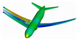 Combined structure and aerodynamics optimization program improves airplane design.