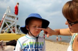 Nanomaterials used in sunscreen